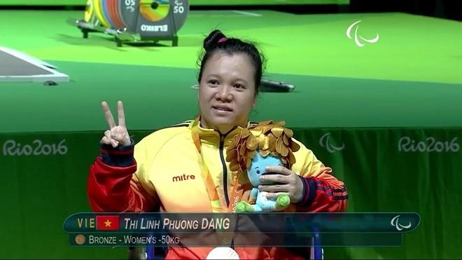 越南残奥会代表团获得第2枚奖牌 - ảnh 1
