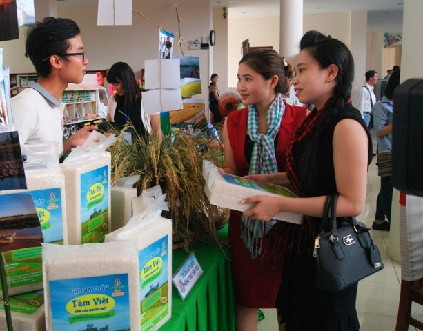 2016年绿色农业集市在同塔省举行 - ảnh 1