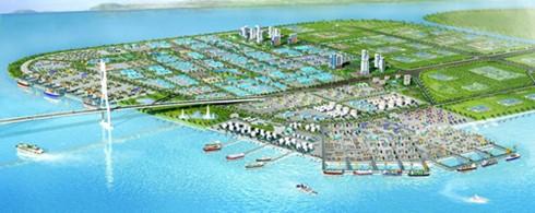 越南政府总理批准广宁省港口和工业区综合体项目投资主张 - ảnh 1