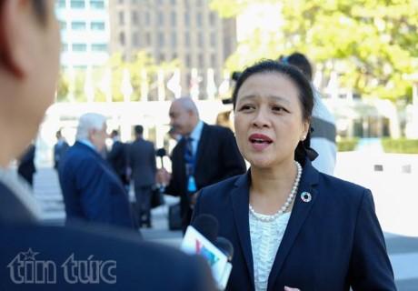 越南希望联合国推动尊重和遵守国际法 - ảnh 1