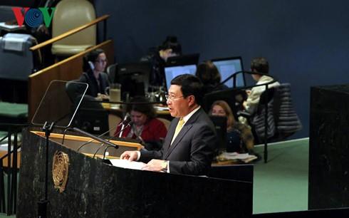 越南支持面向和平合作与可持续发展的多边体制 - ảnh 1