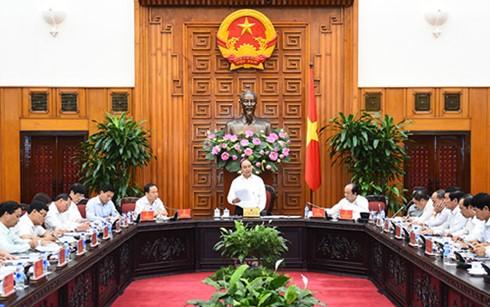 阮春福与清化省领导人举行工作座谈会 - ảnh 1