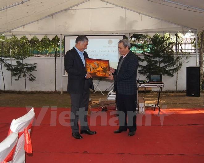 越南和不丹建交5周年纪念会在印度举行 - ảnh 1