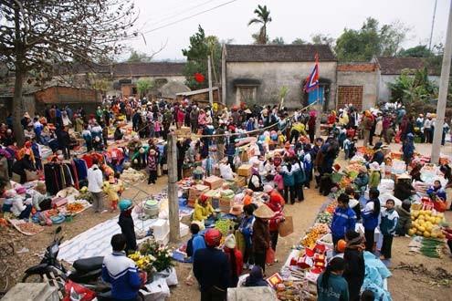 越南集市的色彩 - ảnh 1