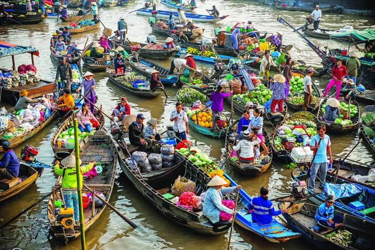 越南集市的色彩 - ảnh 2