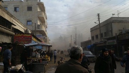 叙利亚遭到汽车爆炸袭击 造成多人死亡 - ảnh 1