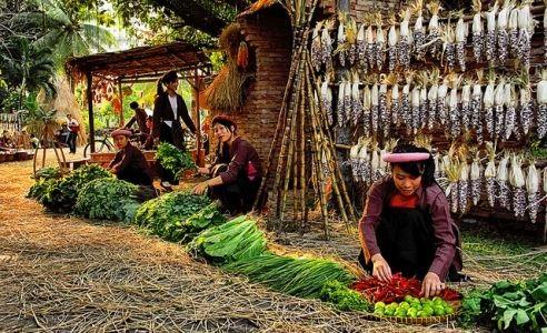 越南集市名字的特色 - ảnh 2