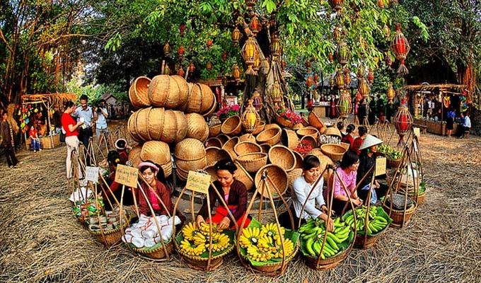 越南集市名字的特色 - ảnh 1