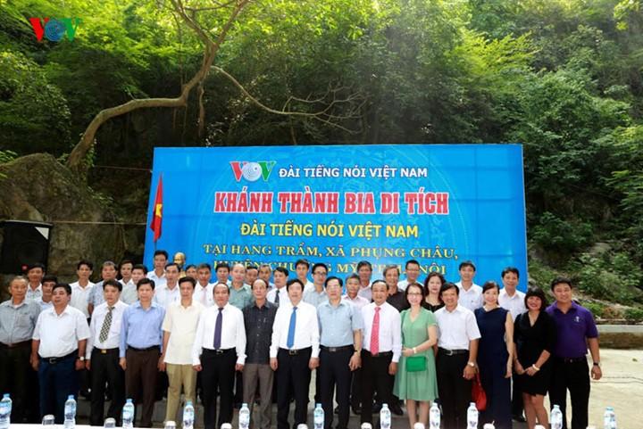 回到胡志明主席70年前在越南之声朗诵贺年诗的地方 - ảnh 3