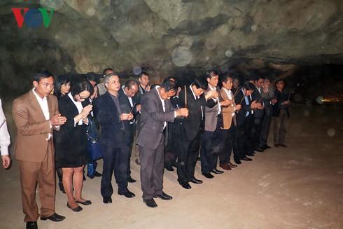 回到胡志明主席70年前在越南之声朗诵贺年诗的地方 - ảnh 4