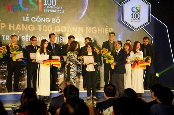 越南评估报告股份公司公布2016年越南大型企业500强名单 - ảnh 1