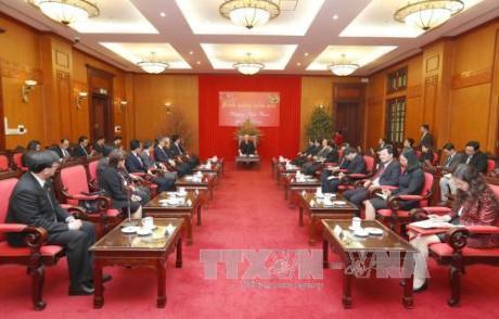 阮富仲会见东盟各国驻越外交代表机构首席代表 - ảnh 1
