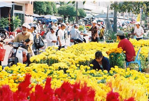 春节乡村集市 - ảnh 2