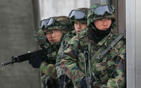 朝鲜谴责美日韩举行联合导弹演习 - ảnh 1