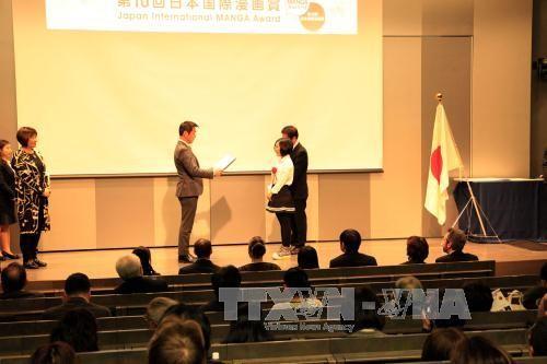 越南作家获得日本国际漫画大奖赛银奖 - ảnh 1