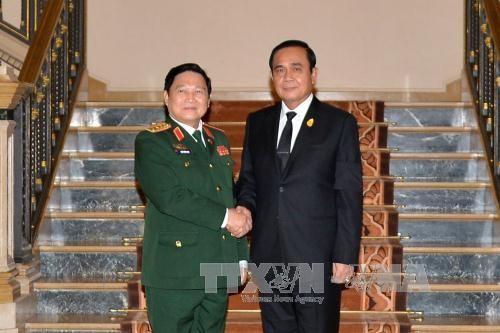 越南和泰国加强防务合作深化战略伙伴关系 - ảnh 1