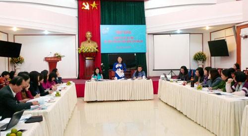 越南妇女第12次全国代表大会新闻发布会举行 - ảnh 1