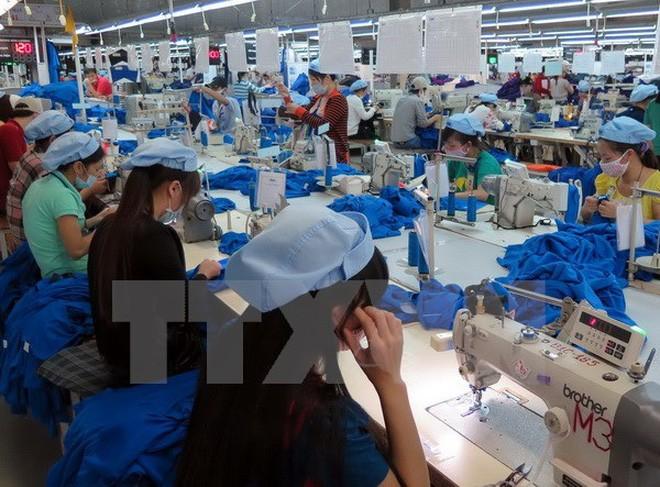 越南纺织品服装行业出现良好增长信号 - ảnh 1