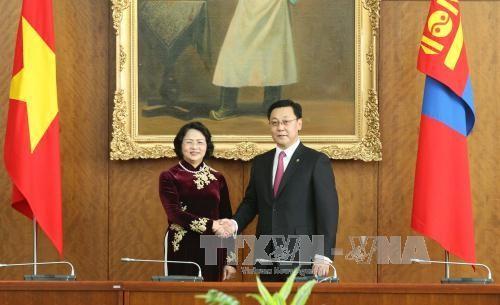 越南和蒙古国加强所有领域合作 - ảnh 1