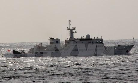 中国多艘船只出现在与日本存在争议的群岛附近海域  - ảnh 1