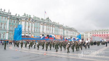 俄罗斯纪念5.9反法西斯战争胜利日 - ảnh 1