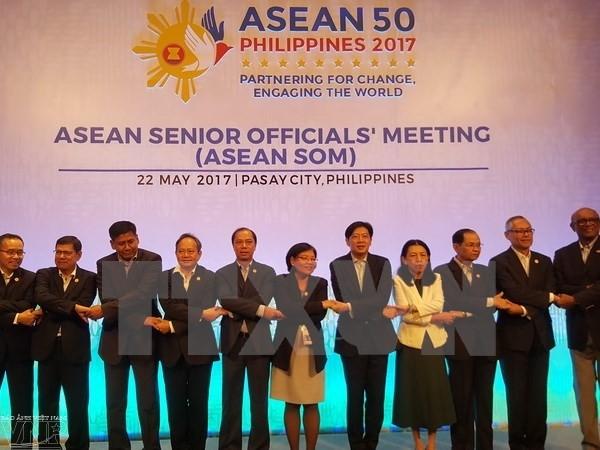 东盟高官会在菲律宾举行 - ảnh 1