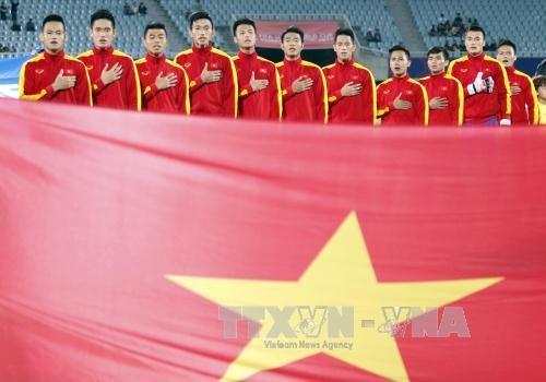 越南20岁以下男足在世界舞台上展现决心 - ảnh 1