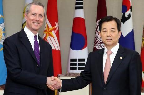 韩美重申牢固的同盟关系 - ảnh 1