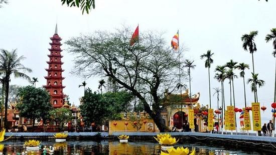 河内最古老的寺庙——镇国寺 - ảnh 1