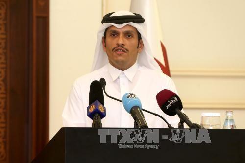 """卡塔尔强调:阿拉伯4国的制裁""""违反国际法""""  - ảnh 1"""