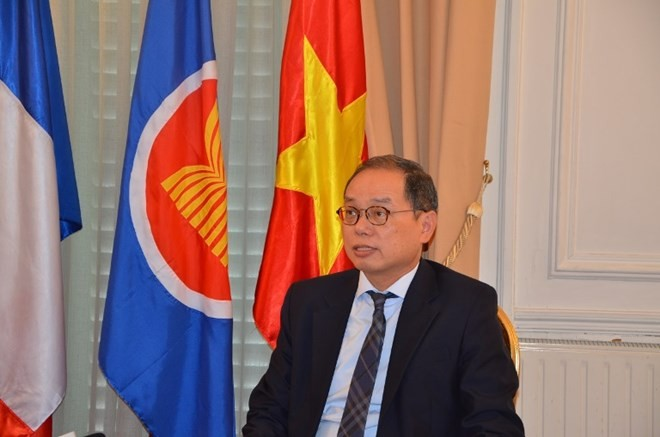 越南成功担任东盟巴黎委员会轮值主席国职务 - ảnh 1