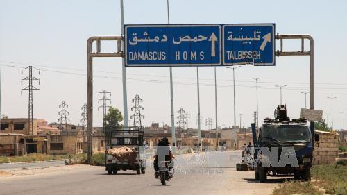 叙利亚军方解放霍姆斯省重镇 - ảnh 1