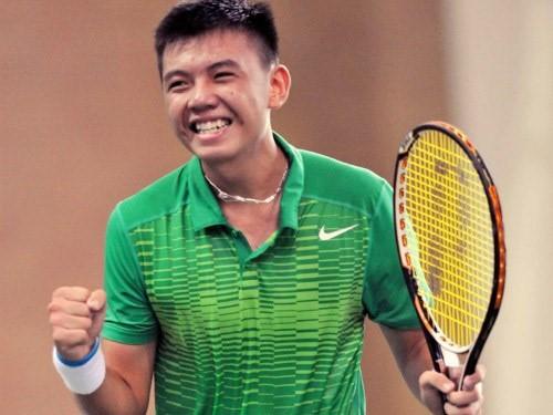 越南网球运动员李黄南居ATP排行榜东南亚地区首位 - ảnh 1