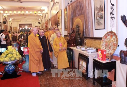 庆祝盂兰节的佛教文化周开幕 - ảnh 1