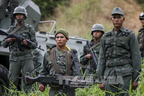 委内瑞拉开始进行大规模军事演习 - ảnh 1