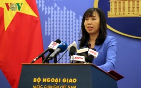 越南外交部例行记者会 - ảnh 1