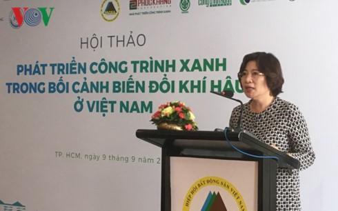 绿色工程是越南建筑业可持续发展的方向 - ảnh 1