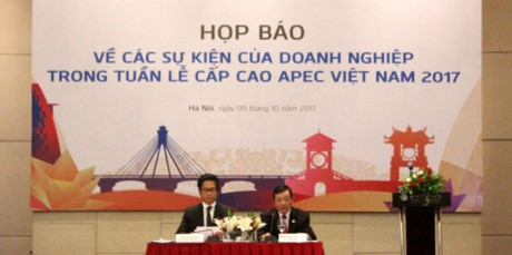 越南企业响应2017年APEC领导人会议周的活动 - ảnh 1