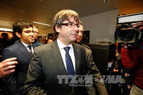 西班牙加区前主席普伊格德蒙特将在比利时出庭 - ảnh 1