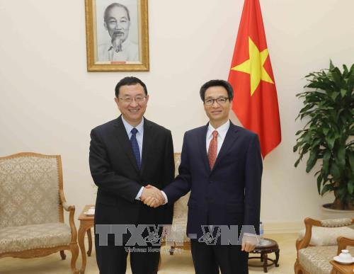 越南和中国加强文化领域合作关系 - ảnh 1