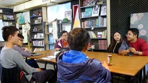 探访抚慰旅居中国台湾越南人心灵的望见书店 - ảnh 1