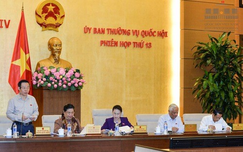 14ème session du Comité permanent de l'Assemblée nationale  - ảnh 1