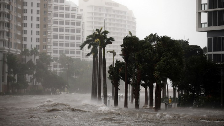 L'archipel des Keys en Floride fortement touché par l'ouragan Irma - ảnh 1