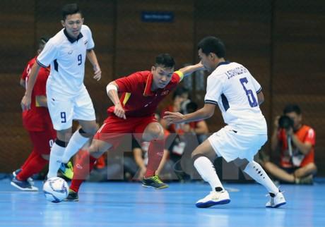 Asian Indoor Games 2017: L'équipe de Futsal du Vietnam déterminée à obtenir de bons résultats - ảnh 1