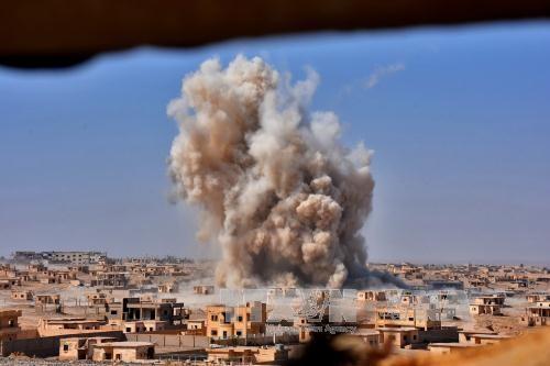 Appuyée par l'aviation russe, l'armée syrienne avance à l'est de Deir ez-Zor - ảnh 1