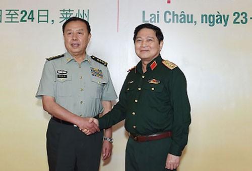 Échange d'amitié pour la défense frontalière Vietnam-Chine - ảnh 1