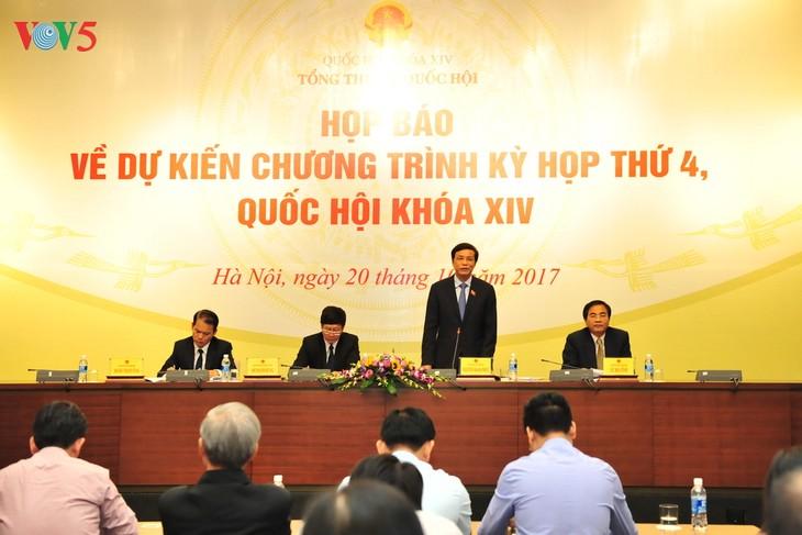 23 octobre: Ouverture de la 4ème session de l'Assemblée nationale - ảnh 1