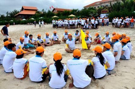 Team buiding, nueva modalidad turística en Vietnam - ảnh 1