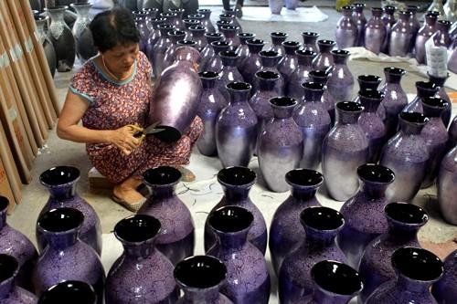 Phu Xuyen prima desarrollar gremios para cumplir programa de nuevo campo - ảnh 1