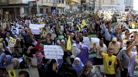 Egipto forja fuerzas de seguridad antes del juicio contra Mohamed Mursi - ảnh 1